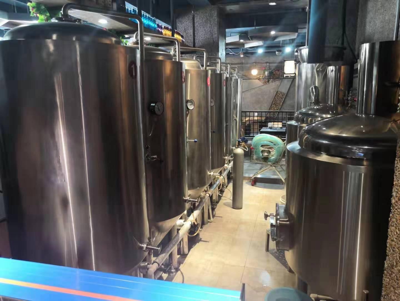 豪鲁精酿啤酒设备