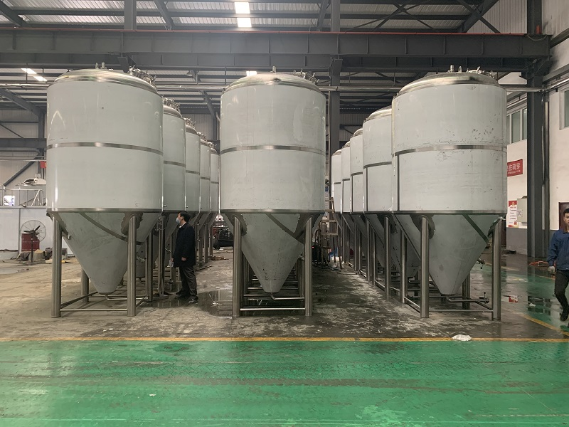 啤酒厂发酵设备