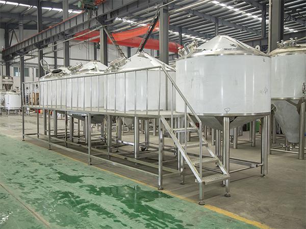 啤酒厂精niang生产线设备