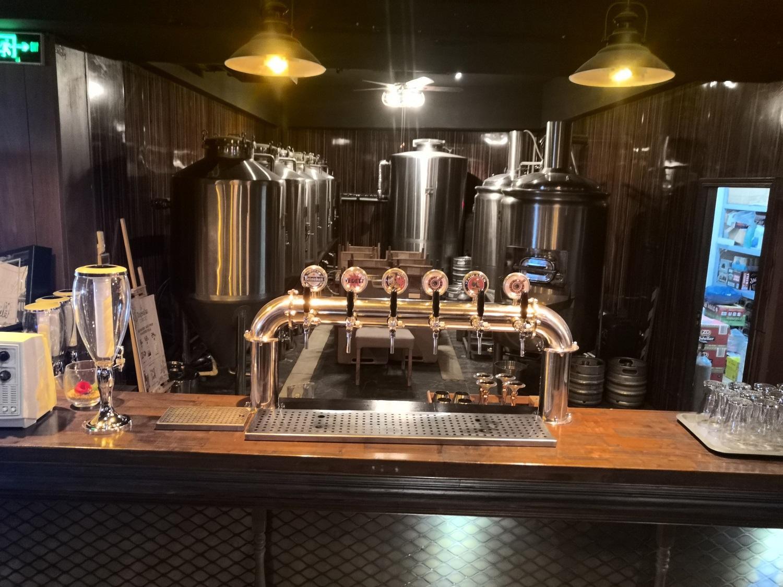 500L 酒ba自niang啤酒设备