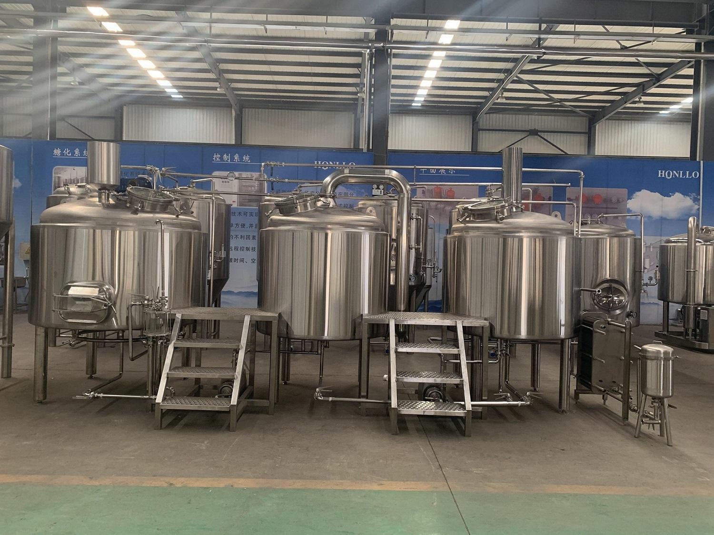 1000升啤酒厂生产设备